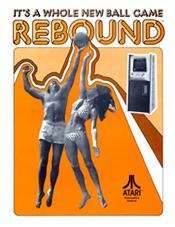 Rebound Arcade Game Flyer