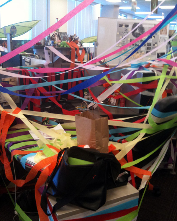 Desk of the Week: Streamers Attack!