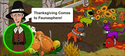 Faunasphere Thanksgiving Holiday