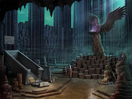 The Interior of the Tomb Screenshot from Hidden Expedition: Devil's Triangle