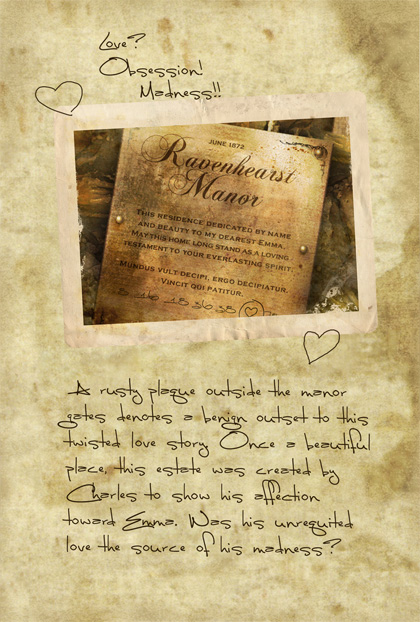 Return to Ravenhearst Lost Journal - Page 3