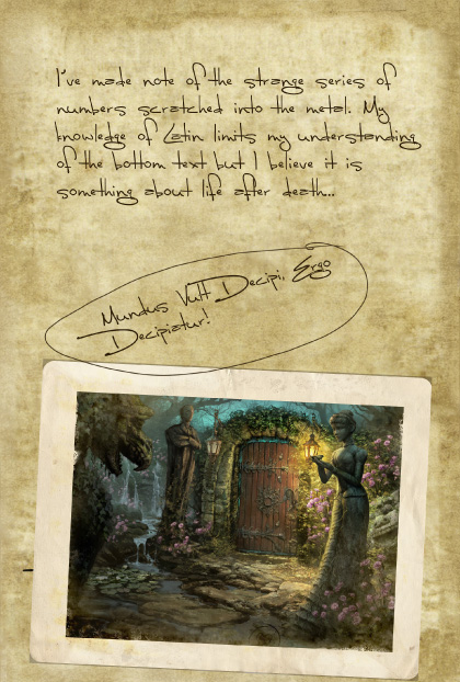 Return to Ravenhearst Lost Journal - Page 4