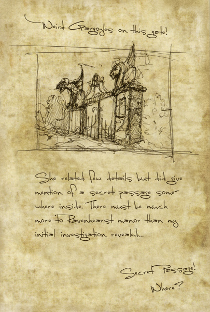 Return to Ravenhearst Lost Journal - Page 6