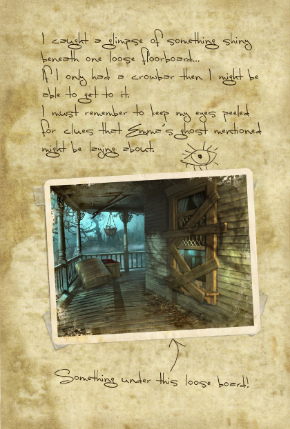 Return to Ravenhearst Lost Journal - Page 8
