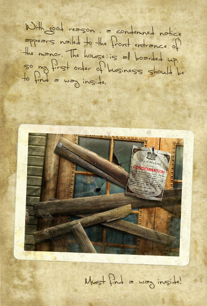 Return to Ravenhearst Lost Journal - Page 9