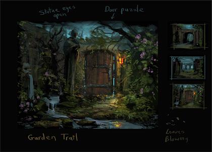 Gate to Garden Area