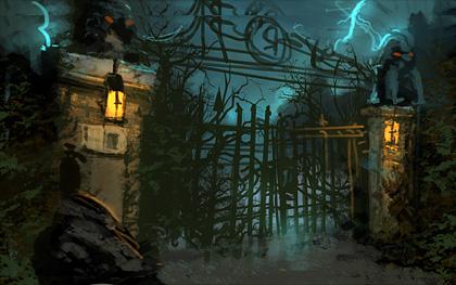 Ravenhearst Estate Front Gate