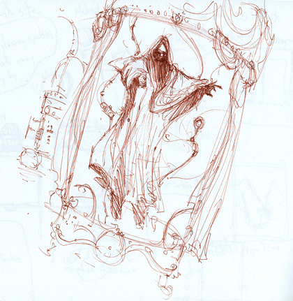 Return to Ravenhearst Sketch V