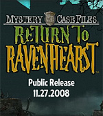 Mystery Case Files: Return to Ravenhearst Release Date Announced