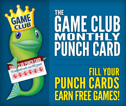 Free Games with Monthly Punch Card