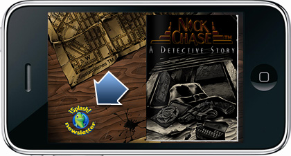 Nick Chase: A Detective Story Title Screen