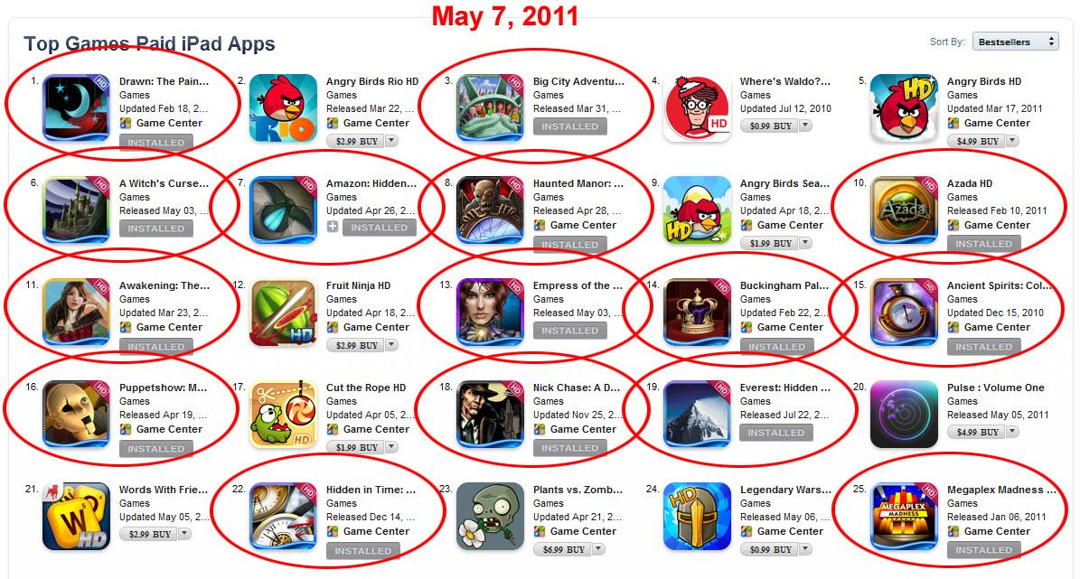 great ipad games