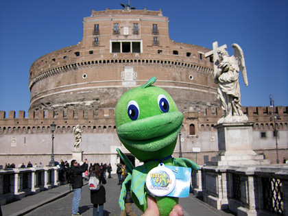 Felix at Castel Sant'Angelo