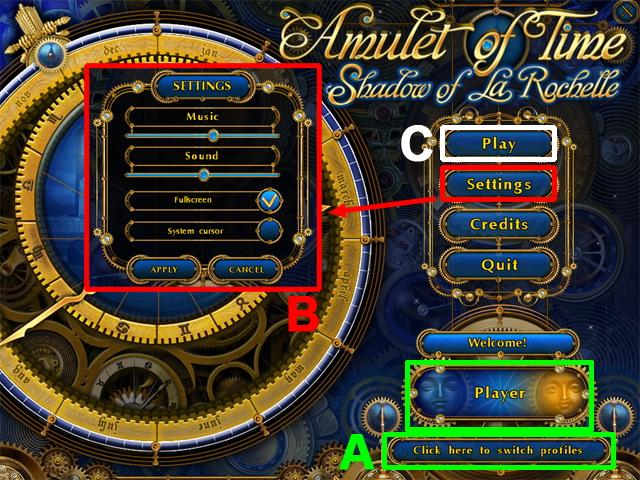 Amuleto del Tempo: Shadow of La Rochelle