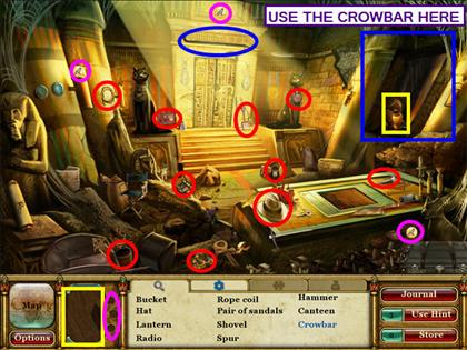 Curse of the Pharaoh: Las lágrimas de Sehkmet