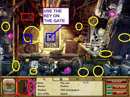 Curse of the Pharaoh: Las lágrimas de Sehkmet