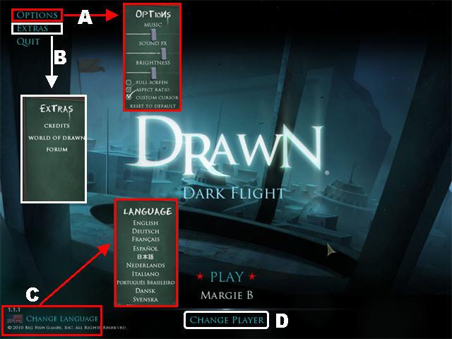 Drawn: El Vuelo Oscuro