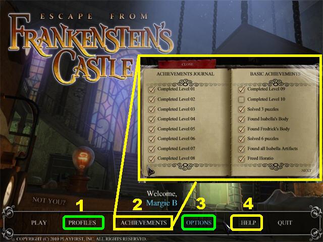 Escape del castillo de Frankenstein