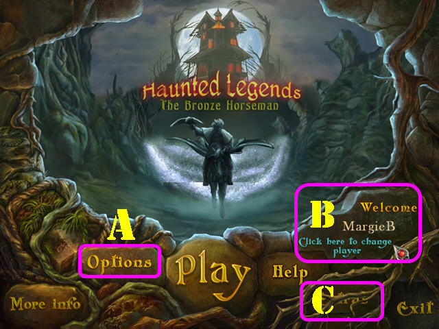 Haunted Legends: El Jinete de Bronce