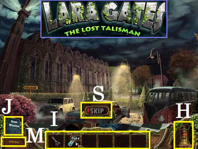 Lara Gates: El talismán perdido