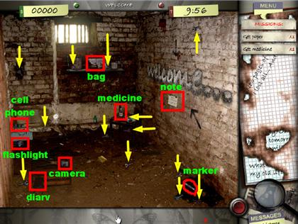 Lost in the City Game Captura de pantalla 1