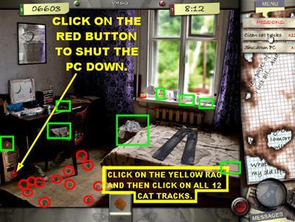 Lost in the City Game Captura de pantalla 26