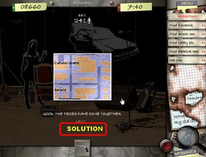 Lost in the City Game Captura de pantalla 34