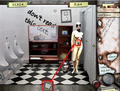 Lost in the City Game Captura de pantalla 45
