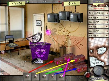 Lost in the City Game Captura de pantalla 50
