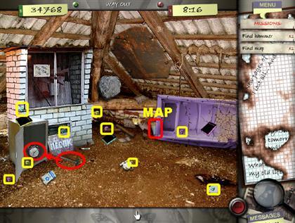 Lost in the City Game Captura de pantalla 146