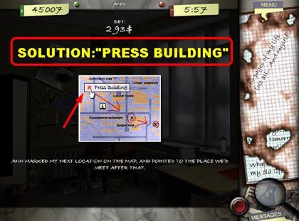 Lost in the City Game Captura de pantalla 184