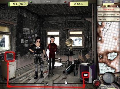 Lost in the City Game Captura de pantalla 209