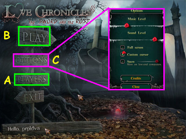 Love Chronicles: La espada y la rosa