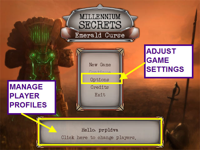 Millennium Secrets: Emerald Curse