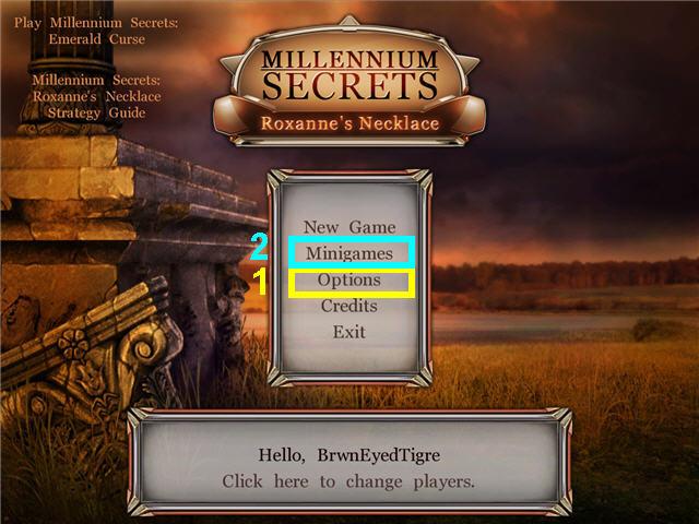 Millennium Secrets: Collana di Roxanne