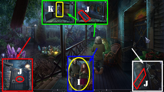 Mystery Trackers: The Fall of Iron Rock Walkthrough, Guide