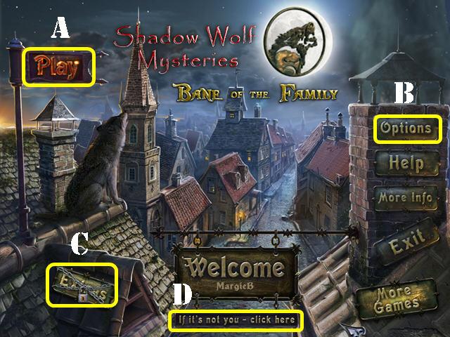 Shadow Wolf Mysteries: Bane de la Familia