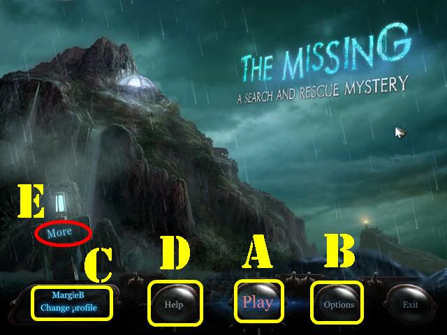 The Missing: A Mystery di ricerca e salvataggio