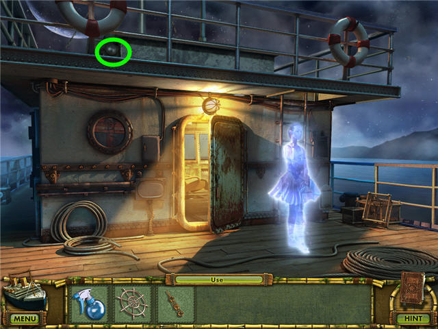 The Treasures of Mystery Island: La nave fantasma