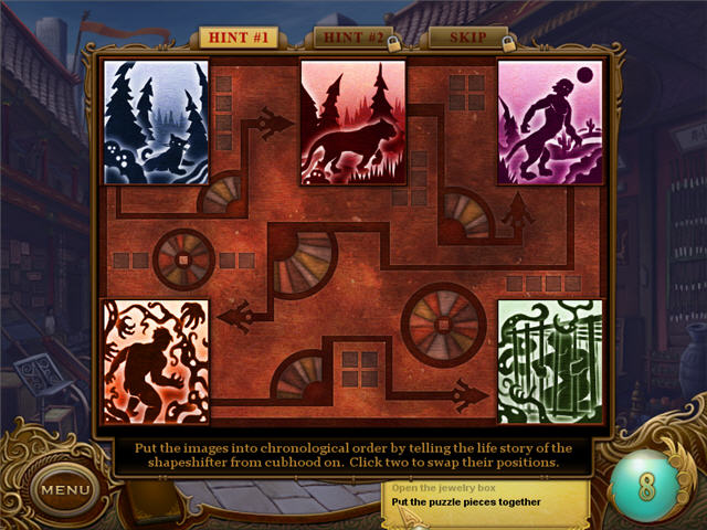 Tiger Eye: Curse of the Riddle Box