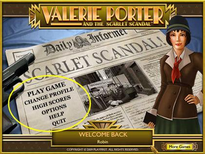 Valerie Porter Scarlet Scandal