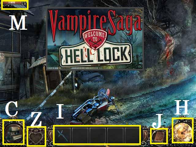 Vampire Saga: Welcome to Hell Blocco