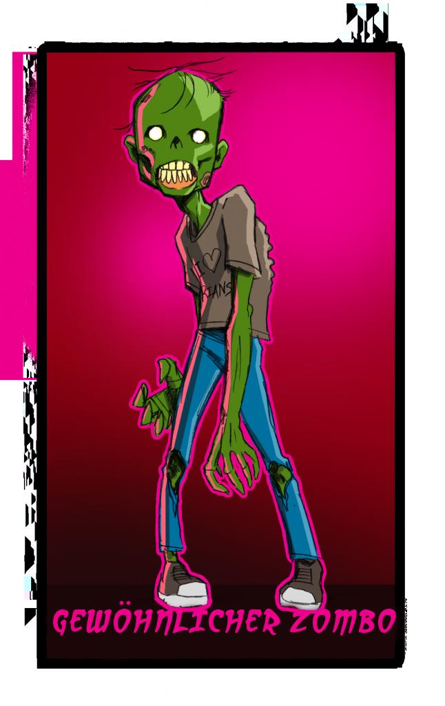 Zombies und ihre Eigenarten