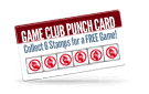 Monthly Punch Card