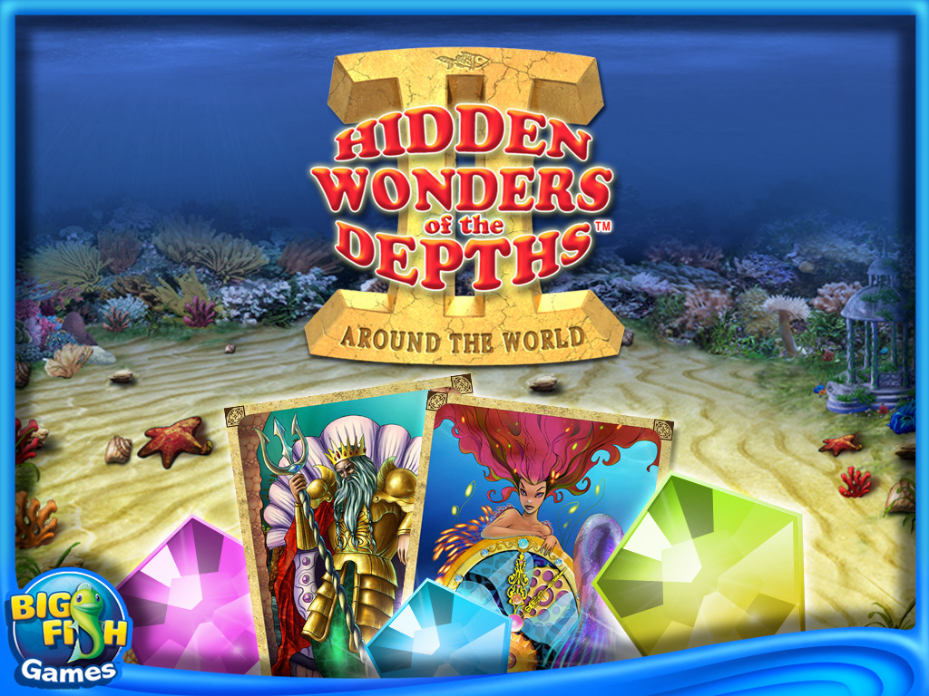 Hidden Wonders of the Depths 2 HD for iPad and iPhone Screenshot 1