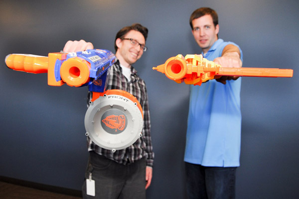 Nerf Warriors