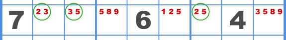 Sudoku Naked Triple